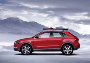 Themenfahrzeug Audi Q3 Vail
