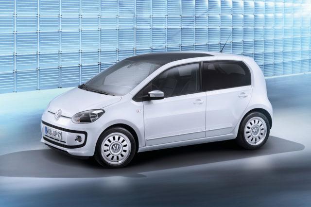 Volkswagen up! Viertürer mit gleicher Ausstattung und Motoren wie beim Zweitürer