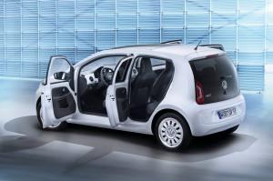 Der neue Volkswagen up! Viertürer