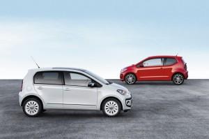 Der neue Volkswagen up! als Viertürer ab Frühjahr im Handel