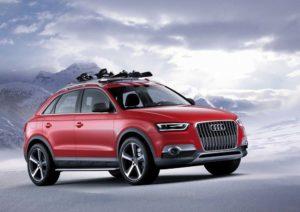 Audi Q3 Vail Weltpremiere auf der NAIAS in Detroit