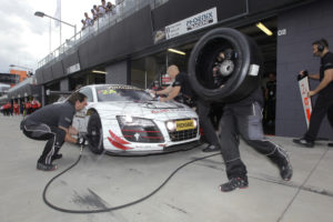 12h Bathurst Zweiter Audi R8 LMS nach Crash ausgefallen