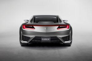 Honda NSX Concept seriennaher Prototyp-Marteinführung im Jahr 2015
