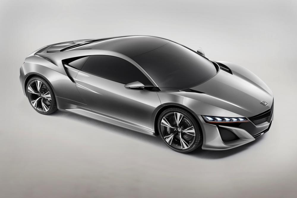 Wiedergeburt einer Legende-Der Honda NSX Concept auf dem Genfer Autosalon