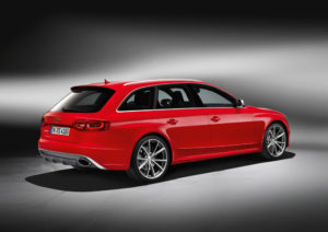 Neuer Audi RS 4 Avant ab Herbst 2012 im Handel