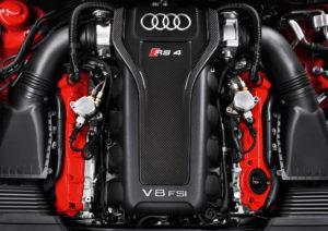 Audi RS 4 Avant Motor des neuen RS4