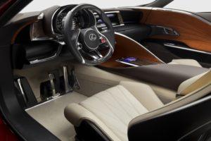 Sportcoupe Lexus LF-LC Concept Cockpit