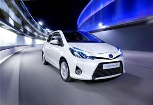 Weltpremiere Toyota Yaris Hybrid auf dem Genfer Autosalon 2012