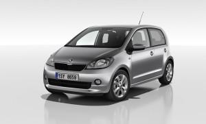 Skoda Citigo Fünftürer Weltpremiere auf dem Genfer Autosalon 2012
