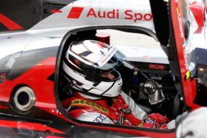 WEC - 12h Sebring 2012 Tom Kristensen startet aus Reihe 1