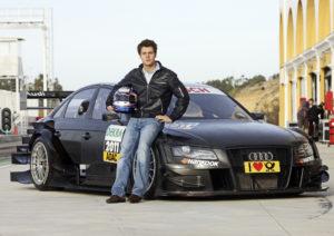Adrien Tambay im achten Audi A5 DTM in der Saison 2012