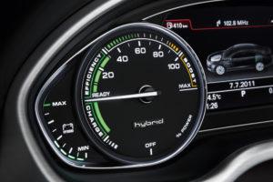 Audi A8 hybrid Anzeigeinstrument