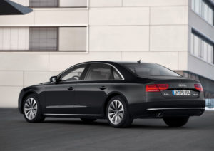 Audi A8 hybrid leichtester Hybrid seiner Klasse
