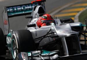 GP von Australien 2012 Michael Schaumacher fällt mit Getriebeschaden aus