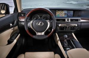 Lexus GS Multimedia Bildschirm mit 12,3 Zoll grösse