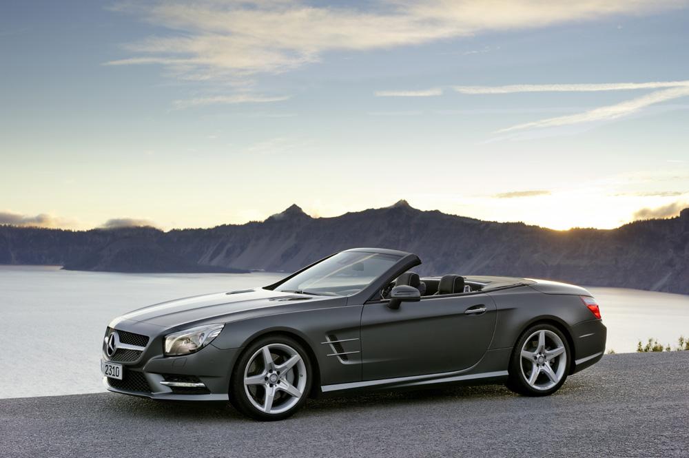 Neuer Mercedes SL-Klasse ab sofort bei den Mercedes Vertriebspartnern