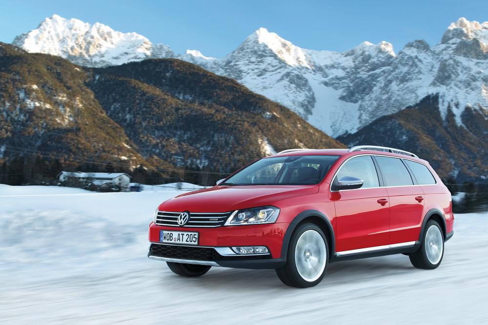 Der neue Volkswagen Passat Alltrack Lücke zwischen PKW und SUV wird geschlossen