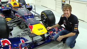 Sebastian Vettel mit Abbey