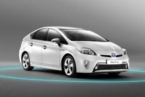 Toyota Prius Modell 2012 umfangreiche Modellpflege