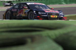 DTM 2012 Mattias Ekström holt erste Pole in der DTM Saison 2012