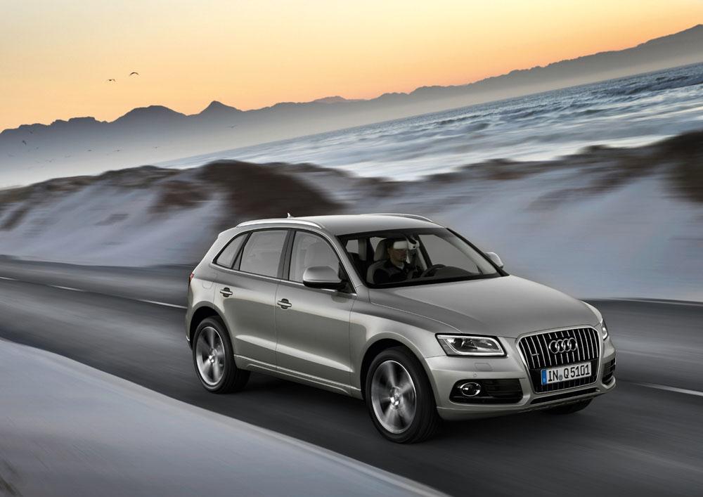 Audi Q5 Facelift ab Spätsommer 2012 im Handel