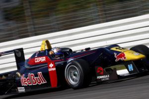 Carlos Sainz.jr zweiter im 1.Lauf der Formel 3 ES auf dem Hockenheimring