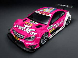 DTM 2012 Mercedes AMG C-Coupe von Susi Wolff