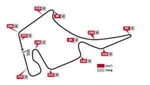 DTM Hockenheimring 2 Streckenlayout Saisonfinale der DTM