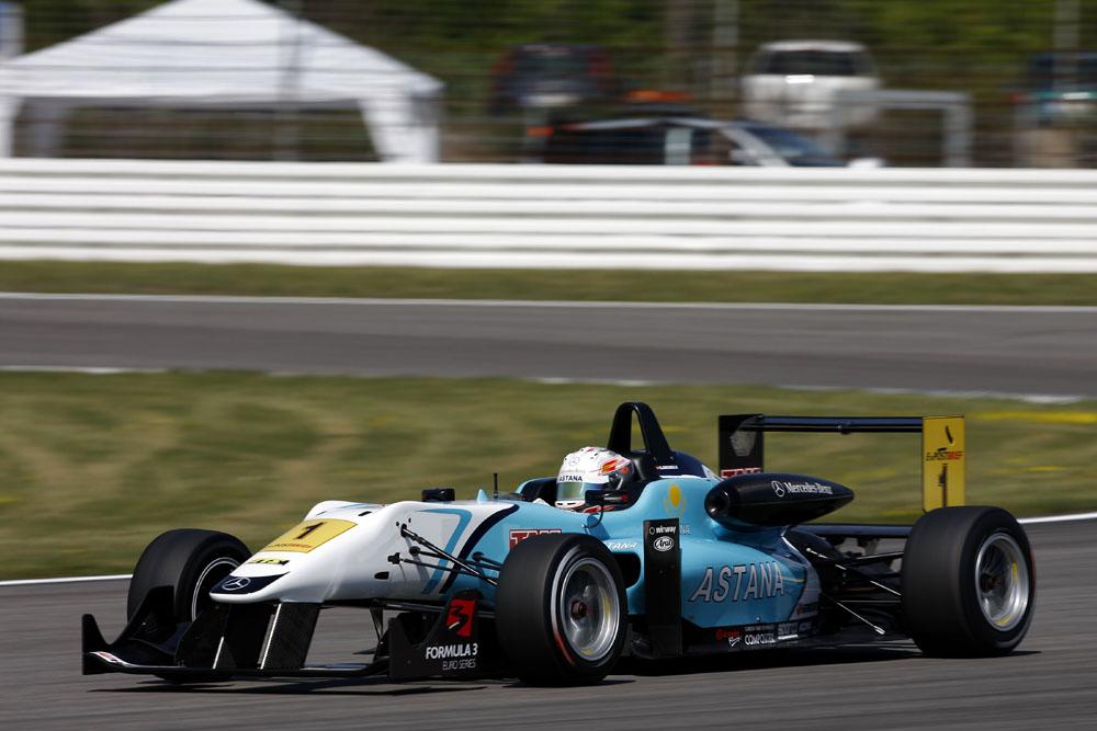 Daniel Juncadella gewinnt 1.Lauf der F3 ES auf dem Hockenheimring