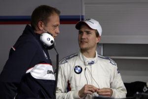 Dirk Werner und Renningenieur Martin Marx BMW