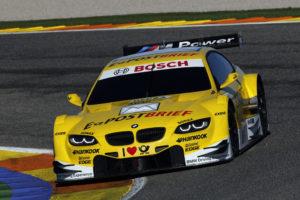 Dirk Werner BMW M3 DTM Platz drei Qualifying Hockenheim 2012