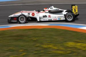 1.Lauf Formel 3 ES Hockenheimring Felix Rosenqvist fährt auf Platz 3