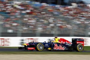 Formel 1 Sebastian Vettel auf Platz 4 in  Kanada