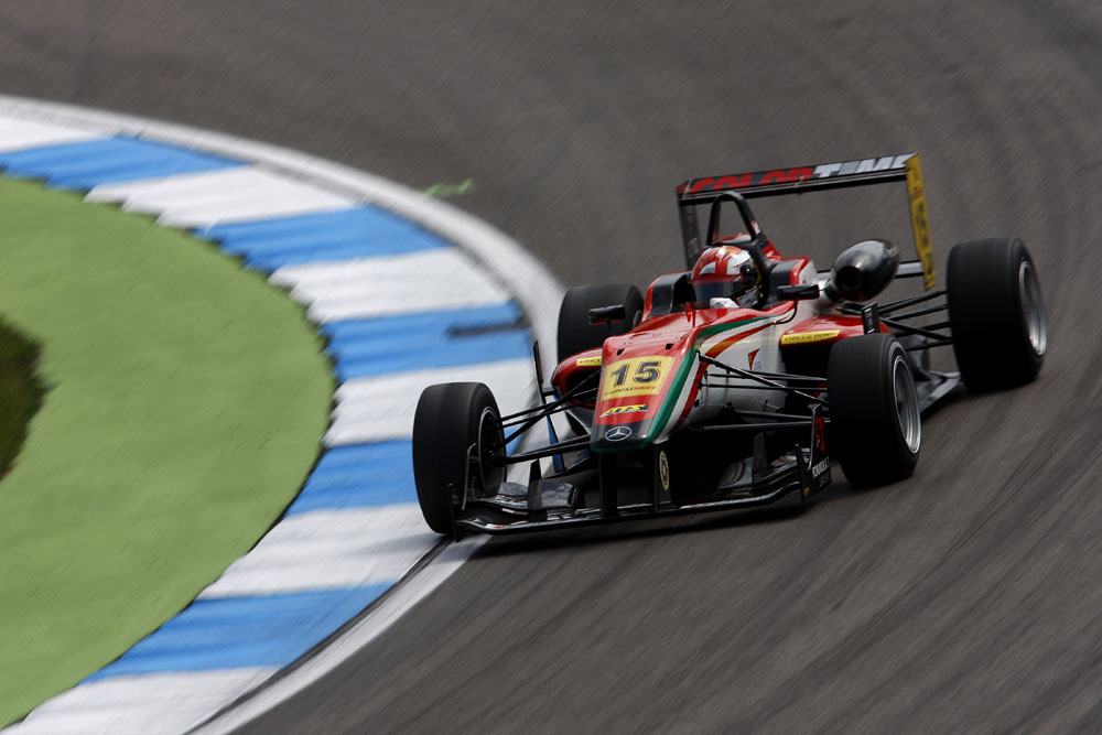 Formel 3 Euroserie Raffaele Marciello gewinnt zwei Rennen in Brands Hatch
