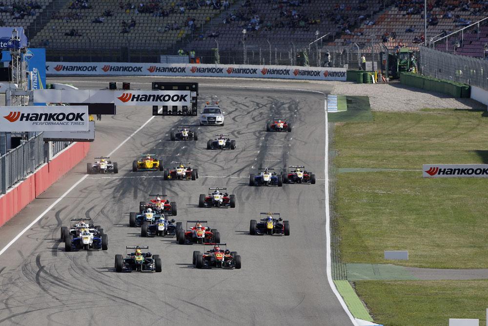 Formel 3 Euroserie Raffaele Marciello gewinnt Rennen 2 auf dem Hockenheimring