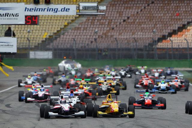 Formel Renault 2.0 NEC 2012 Hockenheimring Jake Dennis Führender nach dem ersten Rennwochenende