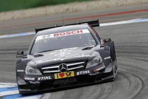 Gary Paffett gewinnt dem ersten Lauf der DTM 2012 auf dem Hockenheimring