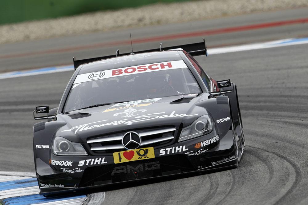 Gary Paffett gewinnt den 3. Lauf der DTM 2012