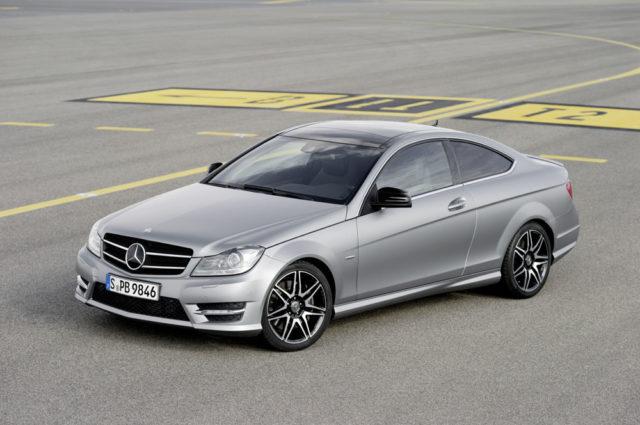 Mercedes C-Klasse Coupe Sport mit neuem AMG Sportpaket AMG Plus erhältlich