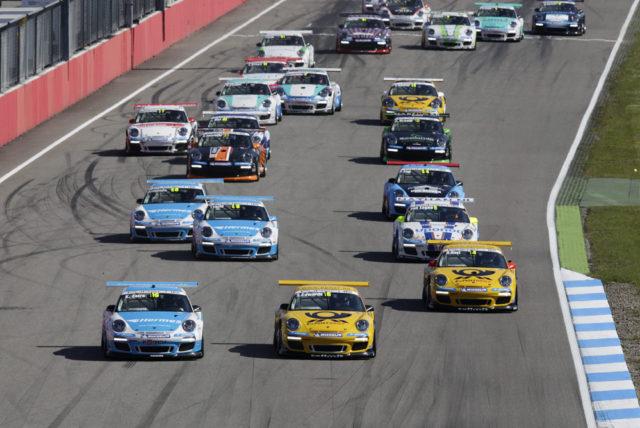 Porsche Carrera Cup Deutschland 2012 Saisonauftakt Hockenheimring