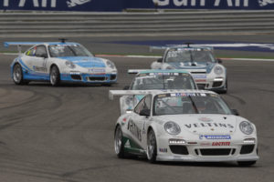 Porsche Mobil 1 Supercup Bahrain 2012 Norbert Siedler gewinnt 2.Lauf