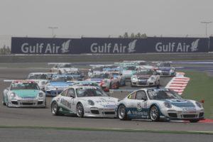 Porsche Mobil 1 Supercup Bahrain 2012 Rene rast gewinnt Saisonauftakt
