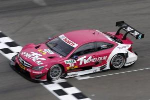 Susi Wolff Platz 12 im ersten Lauf der DTM Saison 2012