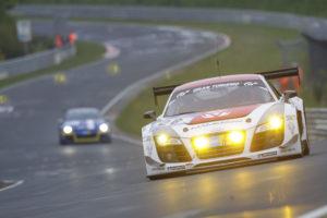 24h Rennen Nürburgring 2012 Christian Mamerow  startet aus Reihe 1