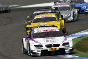 Gelungenes Comeback von BMW in der DTM Andy Priaulx kommt auf Platz 6 ins Ziel