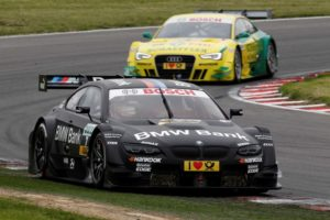 DTM 2012 Bruno Spengler rettet Platz 2 mit defektem Frontsplitter ins Ziel