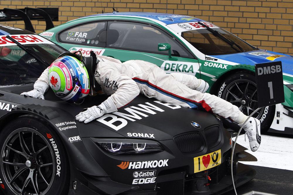 Bruno Spengler gewinnt 2.Lauf der DTM auf dem Lausitzring 2012 im M3 DTM