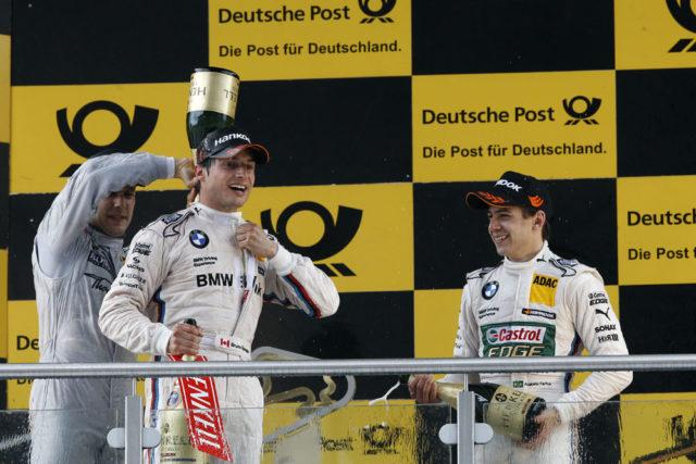 Bruno Spengler 2.Rennen in der DTM für BMW erster Sieg