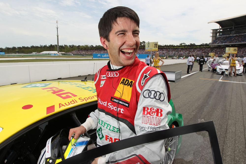 Mike Rockenfeller Startplatz vier auf dem Lausitzring 2012