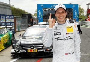 DTM 2012 Brands Hatch Strahlender Sieger Gary Paffett